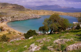 Lindos Bay-Rhodes day tour by Archaeologous