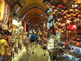 4,000 shops-6 blocks of Grand Bazaar, seen on guided private tour of Istanbul by Archaeologous